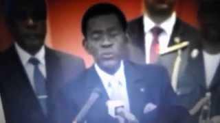 """Obiang Nguema """"Mucha gente fallece pero no dice de qué fallece"""""""
