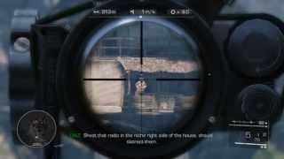 Sniper Ghost Warrior 2 - Gameplay GTX 460