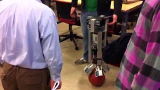 Self-balancing Arduino Ballbot | SPSU senior design project