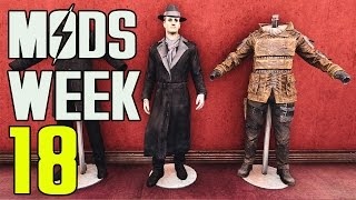 FALLOUT 4 MODS - WEEK #18: Armor Stands, Craftable Vaults, Arcade Machines & More!