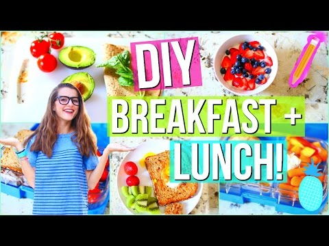 DIY BACK TO SCHOOL Healthy Lunch & Breakfast Ideas! | Tatiana Boyd