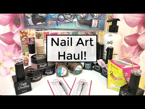 Nail Art Haul! | GellyFit, Ugly Duckling, Amore, Background Photo Props, Fuzion & MORE!
