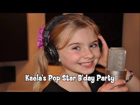 Kaela's Pop Star Birthday Party