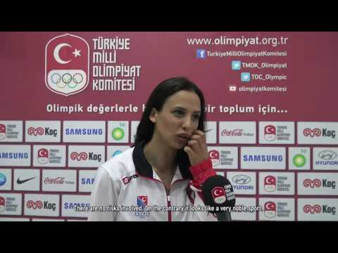 """National fencer İrem Karamete: """"My greatest goal is to win an Olympic Medal."""""""