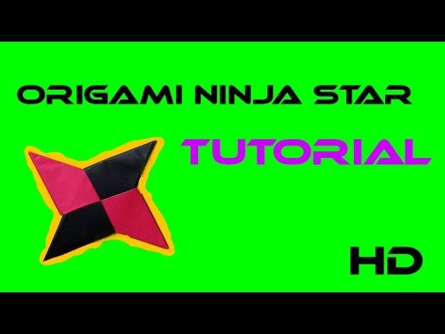 Origami Ninja Star Tutorial Shuriken