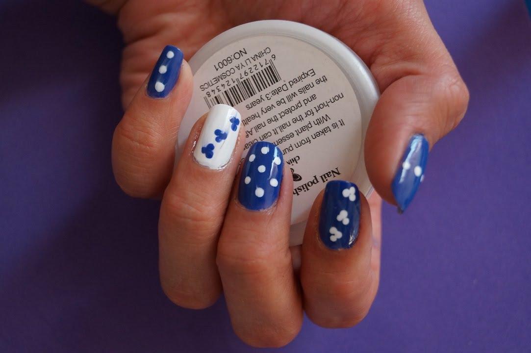 Diseño de uñas faciles y bonitas :) - YouTube