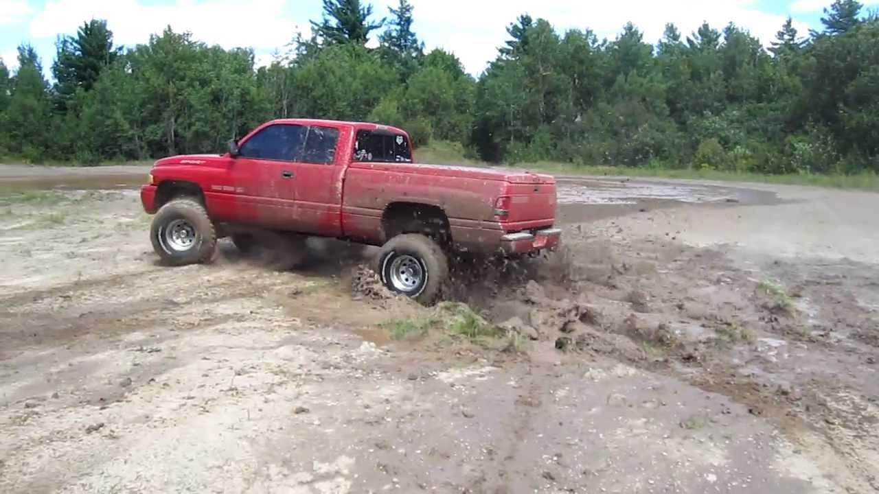 lifted 99 dodge ram mud youtube - Dodge Ram 1500 Lifted Mudding