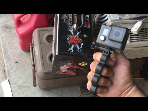 Brass Knuckle GoPro Handle
