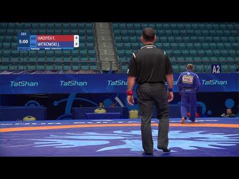 Repechage Men's GP Gi - 71 kg: F. HADIYEV (AZE) v. J. WITKOWSKI (POL)