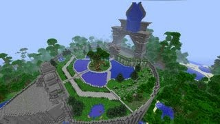 Minecraft Arena : JUNGLE FORGE