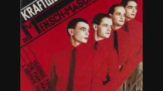 "Kraftwerk with the song ""das Modell"" from the album die Mensch masc..."