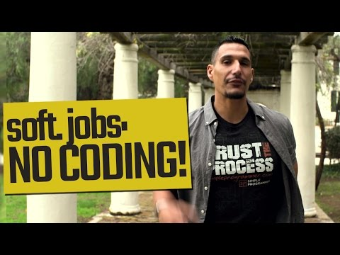 Software Development Jobs: NO CODING!