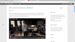 How do I add a YouTube or Vimeo video to a WordPress post?(http://wordpress.robobunnyattack.com/ ***Use coupon code YOUTUBE50DEAL2013 to save 50% off the price of this course!*** This is a sample lesson from ..., 2013-07-29T12:47:47.000Z)