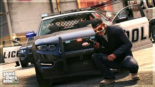 Being a Police Officer in GTA 5 Online!