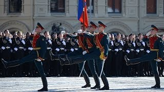 Victory Day parade on Moscow