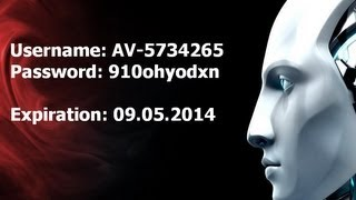 ESET NOD32 ANTIVIRUS 4 License 09.05.2014