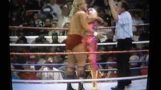 WWF PT Wrestling Macho Man vs  Terrific Terry Taylor