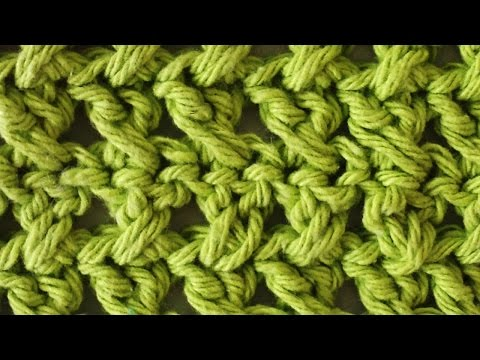 Stitch Repeat Cross Stitch Free Crochet Pattern – Right Handed