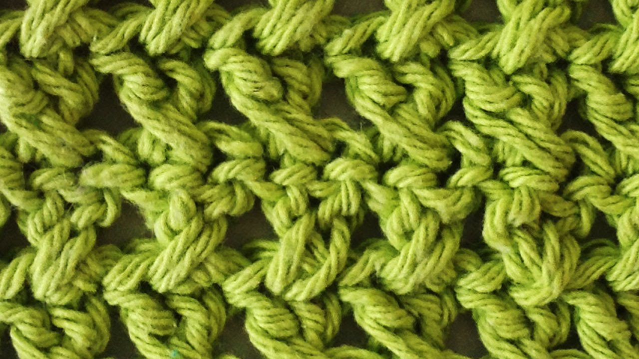 Stitch Repeat Cross Stitch Free Crochet Pattern Right Handed Youtube