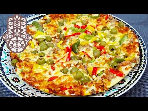 pizza-pâte-liquide-au-thon