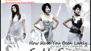 S.H.E - 「你最近還好嗎」 How Have You Been Lately [Download Link + Lyrics]