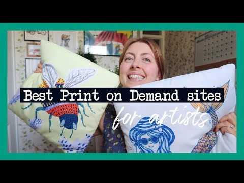 Choosing The Right Print On Demand Company ~ For Artists