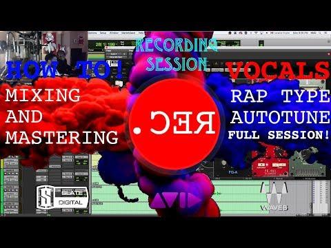 FULL RECORDING SESSION {HIP-HOP VOCALS}