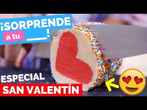 GALLETAS SORPRESA DE CORAZÓN con Karen Rios (San Valentín) ♥ - La Cooquette