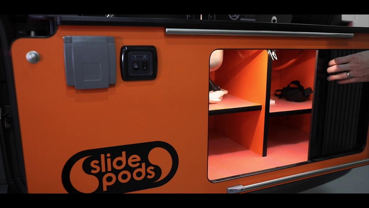 Slidepods VW T6 Kobi Camper Layout