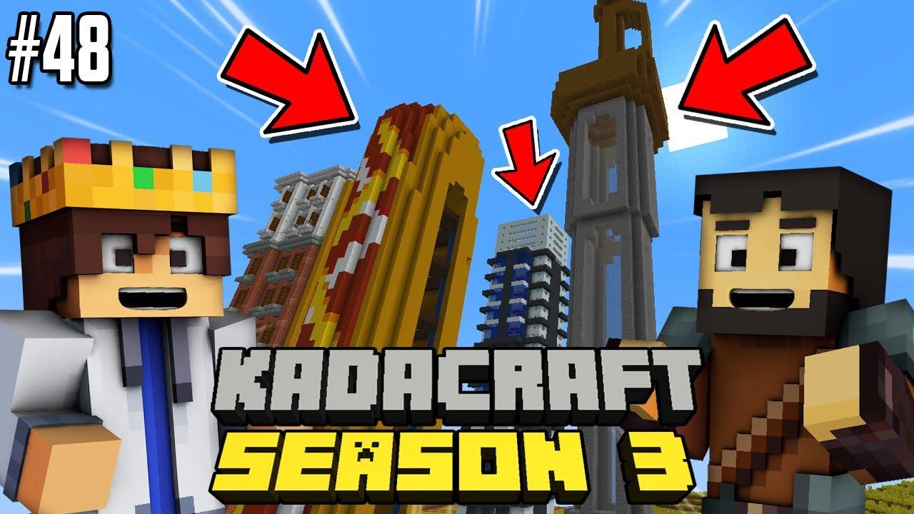 KadaCraft 3 #48 : CHUNK CITY (Filipino Minecraft SMP)