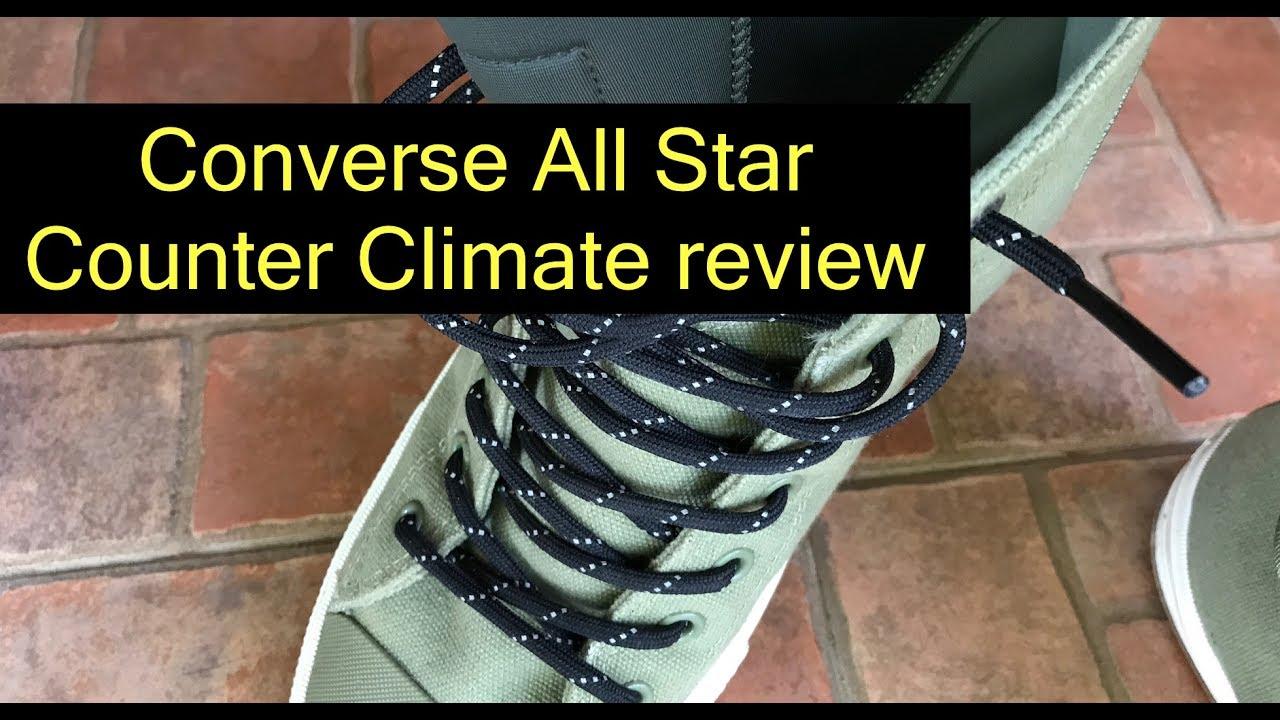 c296a154da14d Converse Chuck Taylor All Star II Shield Canvas Boot counter climate review