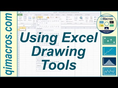 using-drawing-tools-in-excel-2007,-2010-and-2013