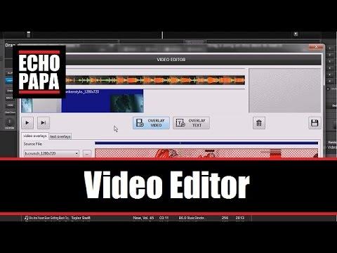 Virtual DJ 8: Video Editor