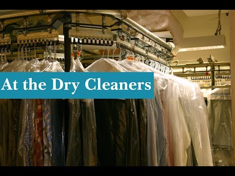 English Conversation: At the Dry Cleaners