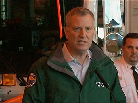 NYC Mayor: Storm Could Be Biggest Ever for City