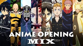 Anime Opening Music Mix | Best Anime OP All Time | Anime Opening Compilation 2021