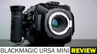BlackMagic URSA MINI 4K Cinema Camera - FULL REVIEW