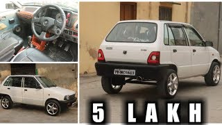 MODIFIED MARUTI 800 | HEATING SEATS | PUSH BUTTON START | HEAD UP DISPLAY Video