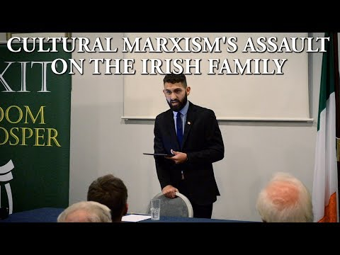 Ben Scallan speaks at Irexit Cork 16-02-2019