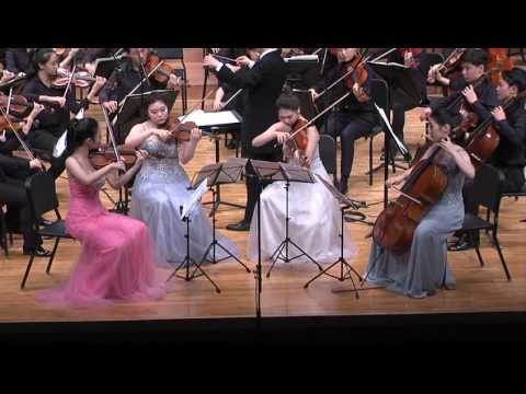 서울예고 정기연주회 E.Elgar introduction and Allegro for string quartet and string orchestra op.47-서울예고