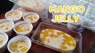 Mango Jelly | Mango Gulaman Recipe