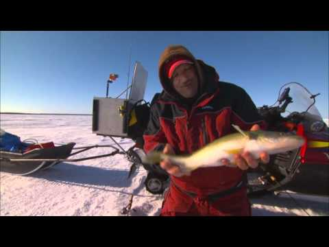 Ice Fishing On The Move