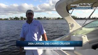 2004 Larson 290 Cabrio Cruiser by Marine Connection Boat Sales, WE EXPORT!