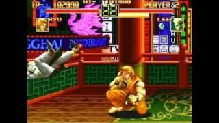 Art of Fighting Anthology PlayStation 2 Gameplay -