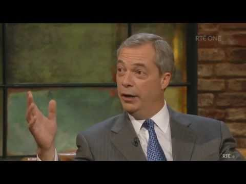 Nigel Farage Vs. Ryan Tubridy on The Late Late Show