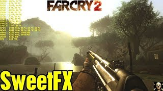 Far Cry 2 SweetFX/ReShade Graphics Mod Before & After Comparison 4K