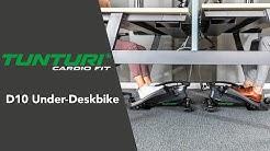 Tunturi Cardio Fit D10 Under-Deskbike [NL] | Tunturi Fitness