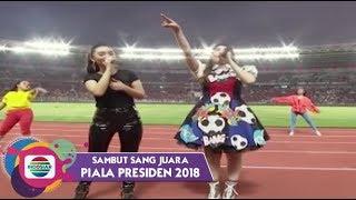 Download lagu Zaskia Gotik dan Via Vallen - Cinta Terbaik | Piala Presiden 2018