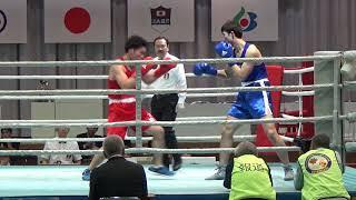 H30 全日本 準決 LH級 山田誠輝 対 栗田琢郎 ボクシング