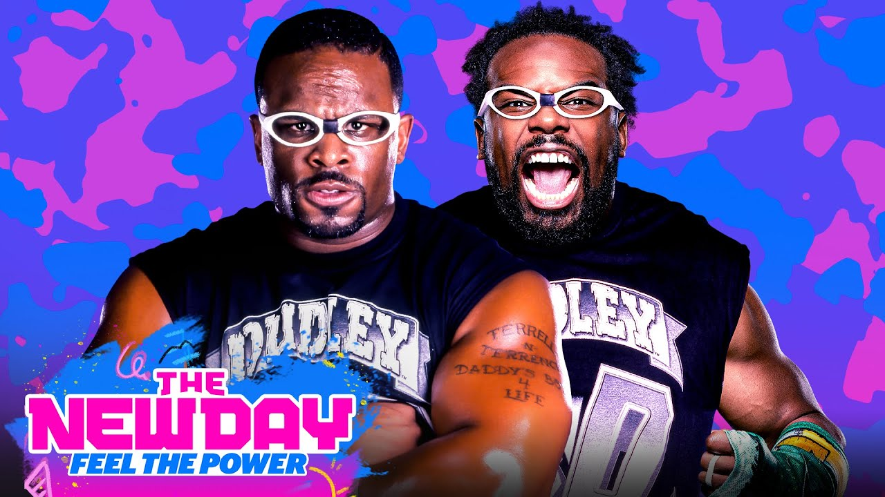 Xavier's ECW history with D-Von Dudley: The New Day: Feel the Power, Aug. 10, 2020